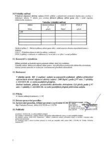 Protokol měření radonu v budově VP Radon -2